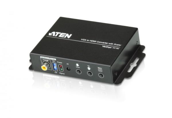 Aten Konverter VGA/Audio->HDMI, mit Scaler