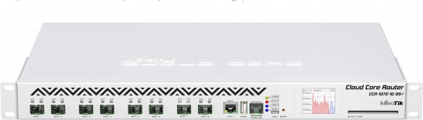 MikroTik Cloud Core Router CCR1072-1G-8S+, 8x SFP+, 1x Gigabit