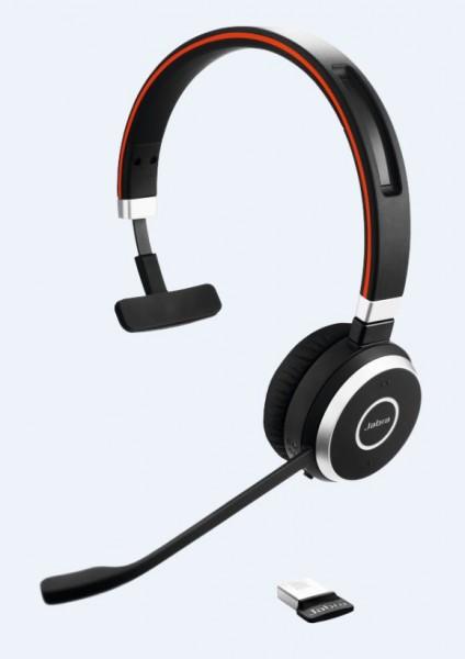 Jabra Evolve 65 Headset Mono USB / Bluetooth MS