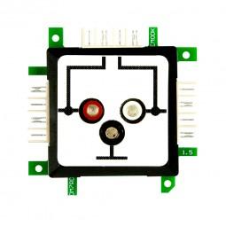 ALLNET Brick'R'knowledge Messadapter 3 x 2mm Buchse