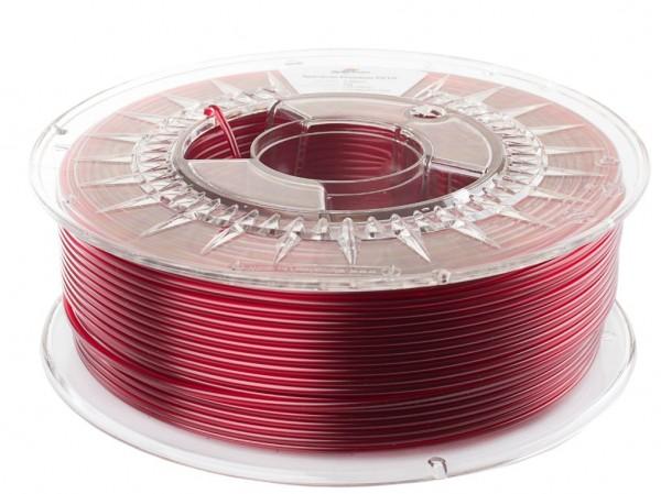 Spectrum 3D Filament PETG 2.85mm TRANSPARENT rot 1kg