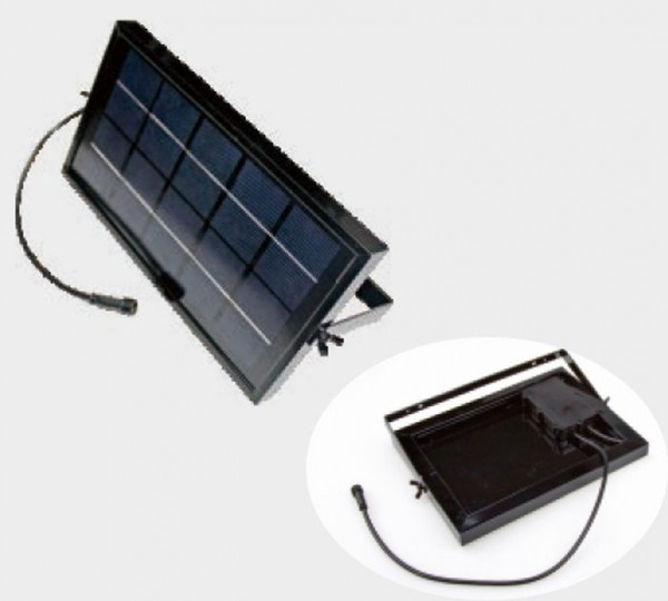 Synergy 21 LED Bodeneinbaustrahler ARGOS zub Solar Panel ink. Akku 10W