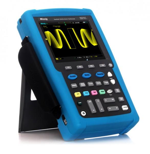 Micsig MS220T / 200 MHz 2-Kanal Handheld-Oszilloskop, 1 GS/s, 50.000 wfms/s, 240 kpts, 6.000 mAh
