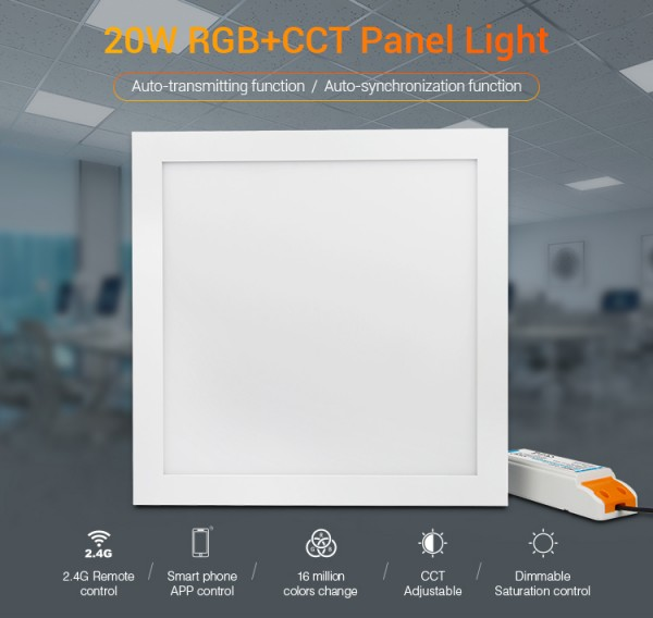 Synergy 21 LED light panel 300*300 RGB-WW (RGB-CCT) Milight/Miboxer