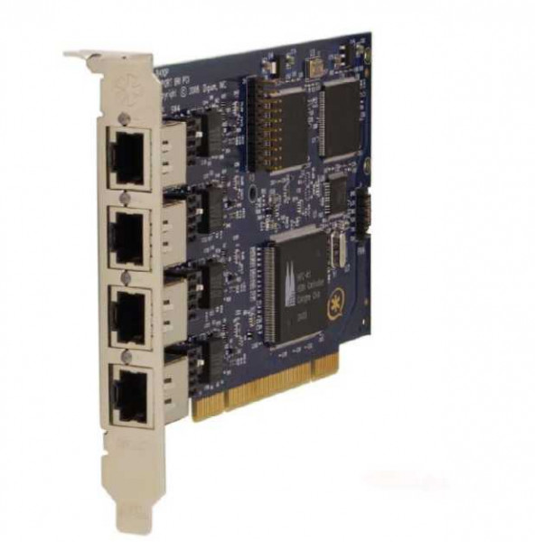 Digium PCI 4-Port S0 Karte Quad Span BRI card + EC (B410P)