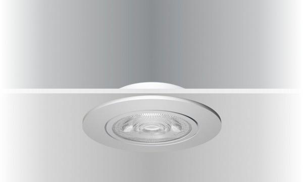 Synergy 21 LED Deckeneinbauspot Helios weiß, rund+schwenkbar, neutralweiß