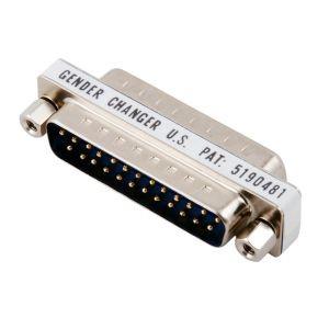 Adapter Gender Changer, D-SUB 25pol.Buchse/D-Sub 25pol.Buchs