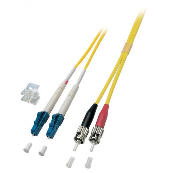 LWL-2-Faser-Patchk. 6mtr.LC-ST, 9u O0361.6, konfektionie