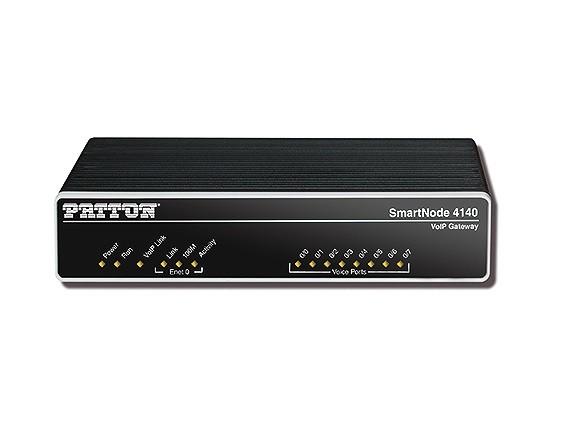 Patton SmartNode 4141 VoIP-Gateway, 4 FXS, 4 VoIP-Calls