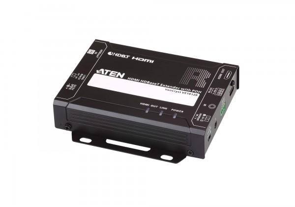 Aten Video/Audio-Extender,70/100mtr., HDMI, Empfänger, mit POH (4K bei 100 m)
