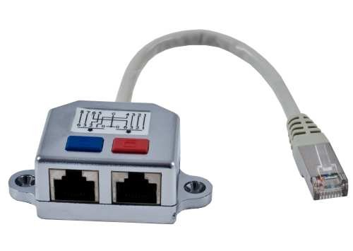 TP-Y(Adapter),2x10/100, FTP, RJ45, Synergy 21,