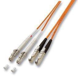 LWL-2-Faser-Patchk. 1.0mtr.E2000-LC, 50/125um,