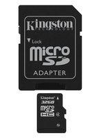 Flash SecureDigitalCard (SD) 32GB *Kingston* microSDHC - Class 4
