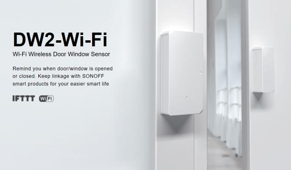 Sonoff · Sensor · Wi-Fi Door · Window Sensor · DW2