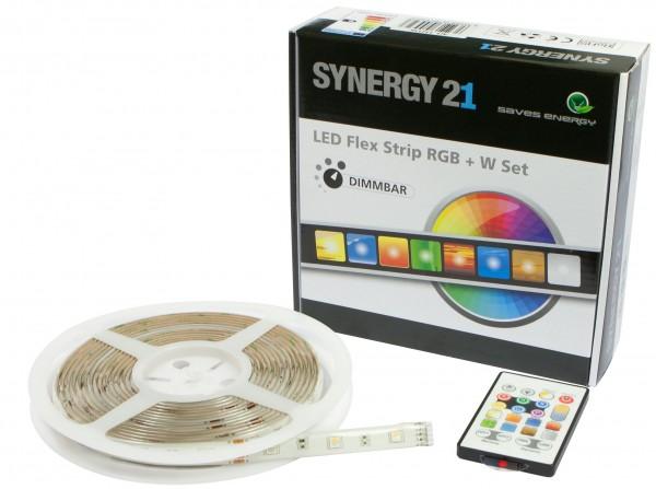 Synergy 21 LED Flex Strip RGB-W DC12V KOMPLETT Set V2