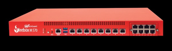 WatchGuard Firebox M570 with 1-yr Total Security Suite