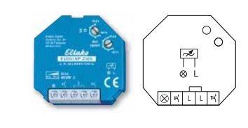 Eltako EUD61NP-230V Universal-Dimmschalter ohne N-Anschluss