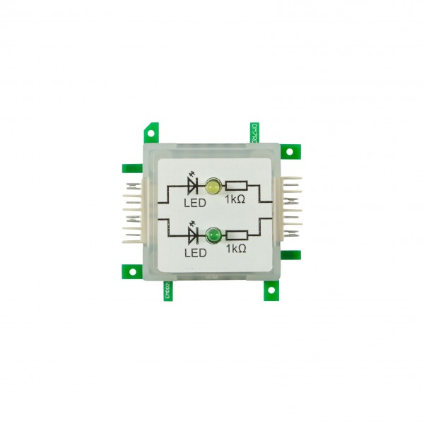 ALLNET Brick'R'knowledge LED dual gelb & grün Signal durchverbunden