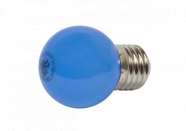 Synergy 21 LED Retrofit E27 Tropfenlampe G45 blau 1 Watt für Lichterkette
