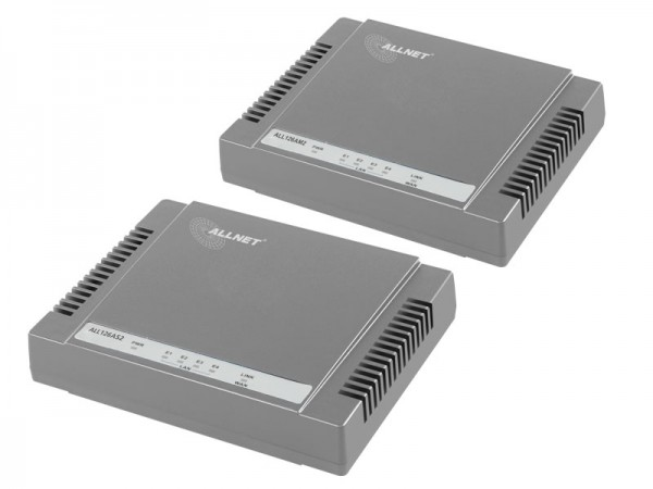ALLNET VDSL2 Bundle ALL126AM3 + ALL126AS3 - für 2-Draht Verbindungen ALL126Bundle