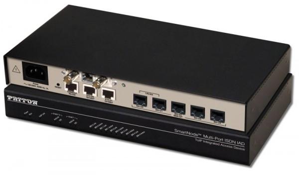 Patton SmartNode 4658, 5 BRI VoIP IAD, X.21
