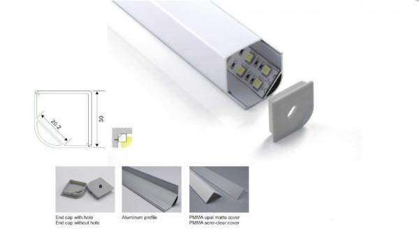 Synergy 21 LED U-Profil 200cm, ALU015-R