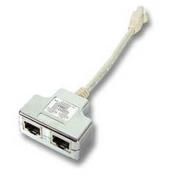 Kabel TK ISDN Y(Adapter) ohne Widerstand, 1:1 auf allen 8 P