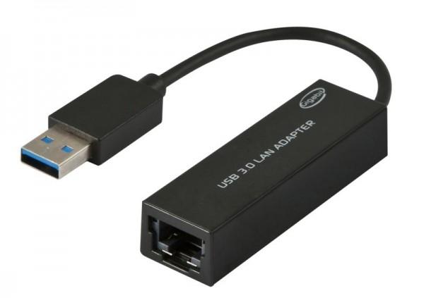 ALLNET ALL0173G / USB 3.0 10/100/1000 MBit LAN Adapter *ALLTRAVEL*
