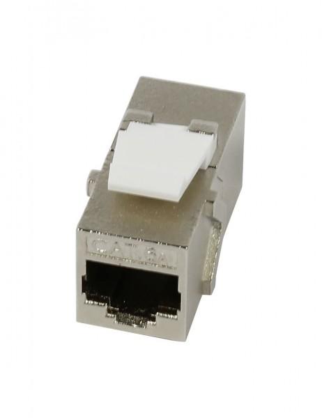 Keystone, Modul, TP/TP-Buchse(RJ45, Kupplung), CAT6A, 500MHz, Slimline, Synergy 21,