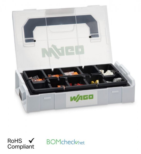 Wago Verbindungsklemmen Set L-BOXX® Mini; Serie 221, 2273, 224