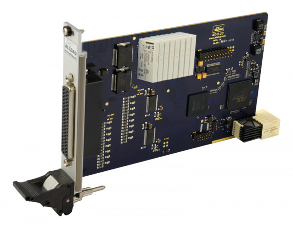 ALLDAQ ADQ-23-cPCIS / CompactPCI Serial-Digital-I/O-Karte, 24 isolierte Digital-Eingänge, 16 isolierte Digital-Ausgänge mit Leistungstreiber, 8 Wechsl