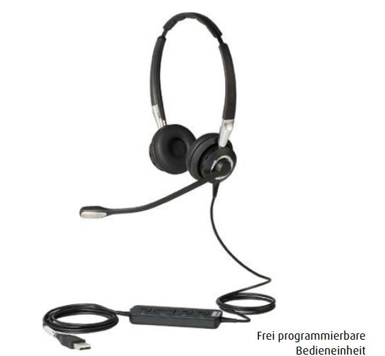 Jabra BIZ 2400 II Headset Duo USB MS