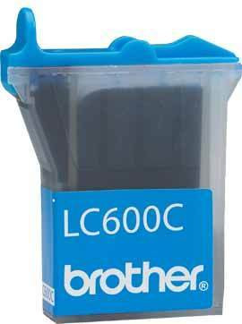 Brother Tinte LC-600C *cyan*