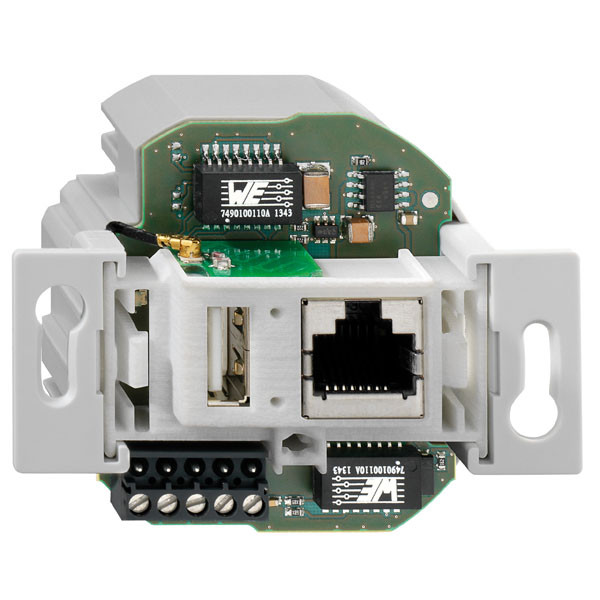 Rutenbeck Accesspoint 150Mbit, UP, CAT5e, 1xRJ45/USB, Reinweiss, POE
