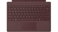 MS Surface Zubehör Go Type Cover Signature *Burgundy* (DE/AT)