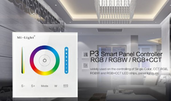 Synergy 21 LED Fernbedienung Smart Panel Controller(RGB/RGBW/RGB+CCT) *Milight/Miboxer*
