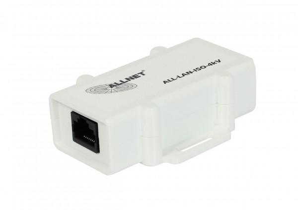 ALLNET / ALL-LAN-ISO-4kV, LAN Gigabit-Isolator 4kV ALL-LAN-ISO-4kV