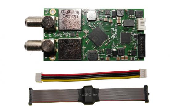 Digital Devices Octopus NET zbh. 2 Port DVB-S/S2 Erweiterungskarte