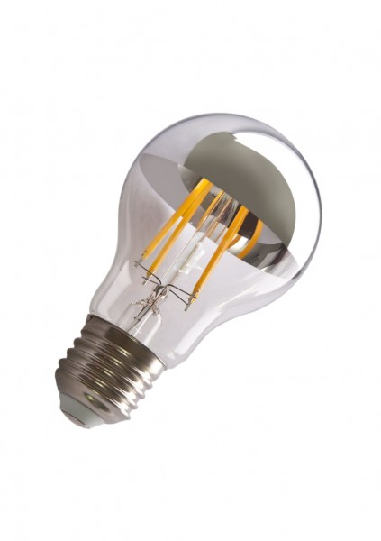 Synergy 21 LED Retrofit E27 A60 bulb 6,5W filament silberspiegel