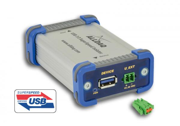 ALLDAQ ADQ-USB 3.0-ISO-W / USB 3.0 SuperSpeed-Isolator bis 1kV, ext. Versorgung: 10..36VDC