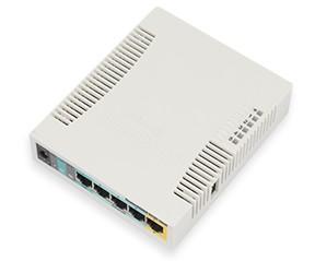 MikroTik Access Point RB951Ui-2HnD, 2.4 GHz, 5x 10/100
