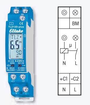 Eltako TLZ12D-plus Treppenlicht-Zeitschalter