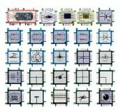 ALLNET Brick'R'knowledge LED dual grün & blau Signal durchverbunden