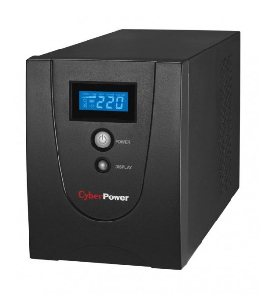 CyberPower USV, Value-Serie, 2200VA/1320W, Line-Interactive, USB/RS232, LCD,