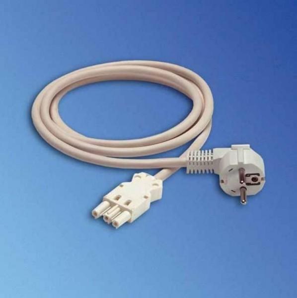Knürr Kabel, 2mtr, Schutzkontakt(Stecker)->GST18(Buchse),