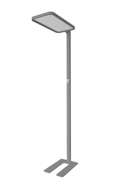 Synergy 21 LED office line Stehlampe grau, dimmbar