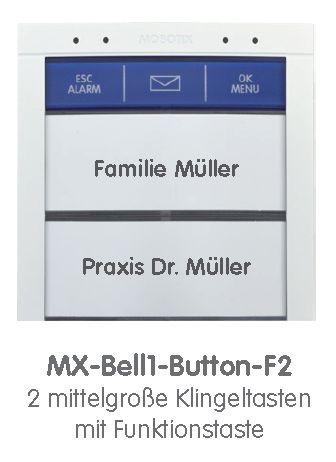 Mobotix BellRFID Klingeltasten-Set F2 STD