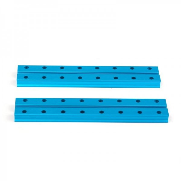 "Makeblock ""Slide Beam 0824-128 Blue (Pair)"" / 2x Gleitschiene 0824-128 für MINT Roboter"