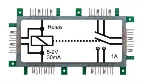 ALLNET Brick'R'knowledge Relais 5-9V 30mA 2x1