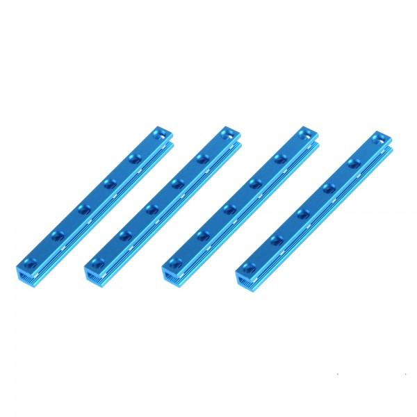 "Makeblock ""Beam 0808-088 Blue (4-Pack)"" / 4x Verbindungsprofil 0808-088 für MINT Roboter"